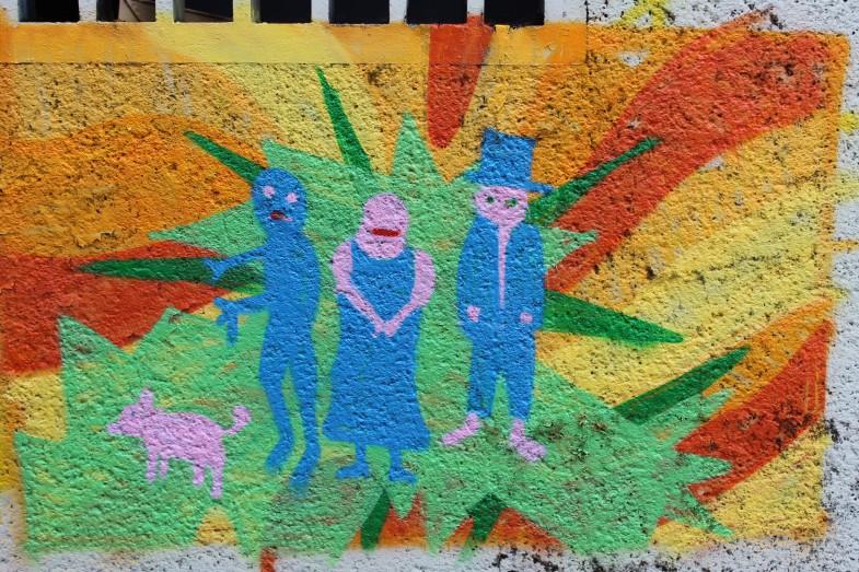 graffiti aussenwand